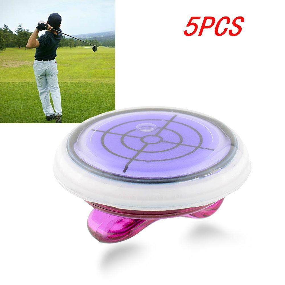 Hình ảnh 5 PCS High quality Golf Slope Putting Level Ball marker With Hat Clip Colorful Useful