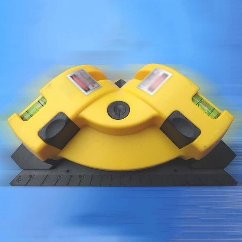 Poya Mesin Penggiling Vertikal Horisontal Alat Pengukur Jarak Laser Inframerah Garis Proyeksi Tingkat Square Tepat