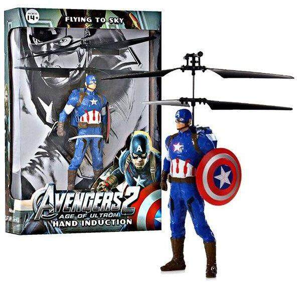 Hand infrared induction control Superhero - Captain America