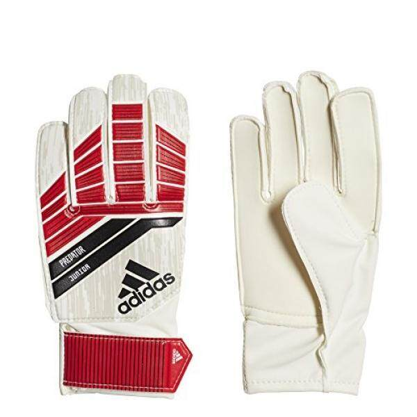 adidas Predator Junior Goalie Glove, Red, - intl