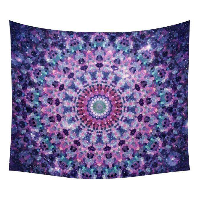 1pc 51x59 inch Beautiful Scenery Tapestry Tapestry Home Fashion Wall Hanging Bedspread Beach Towel Yoga Mat