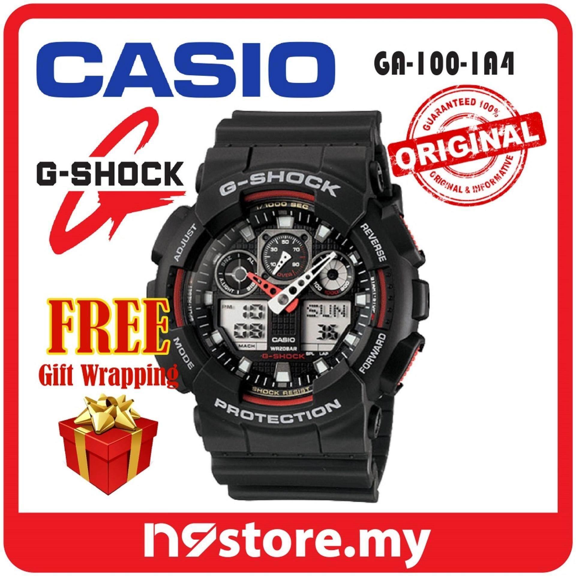 Casio G-Shock GA-100-1A4 Analog Digital Sports Watch