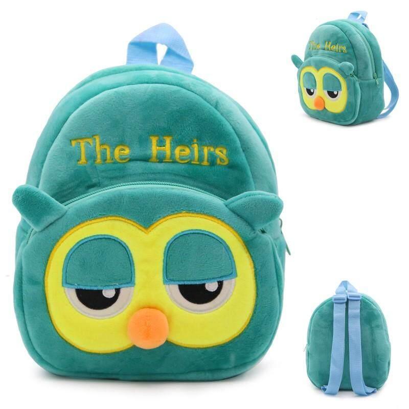 Cute Cartoon Plush Mini Owl Backpacks Baby School Bag Toys for Children Kindergarten Boy Girl Animal