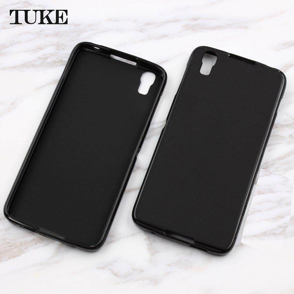 TUKE For Alcatel Idol 4 OT6055 6055 6055K Case Protective Back Cover Soft TPU Cases Idol4 Phone Bags for For Blackberry DTEK50 - intl