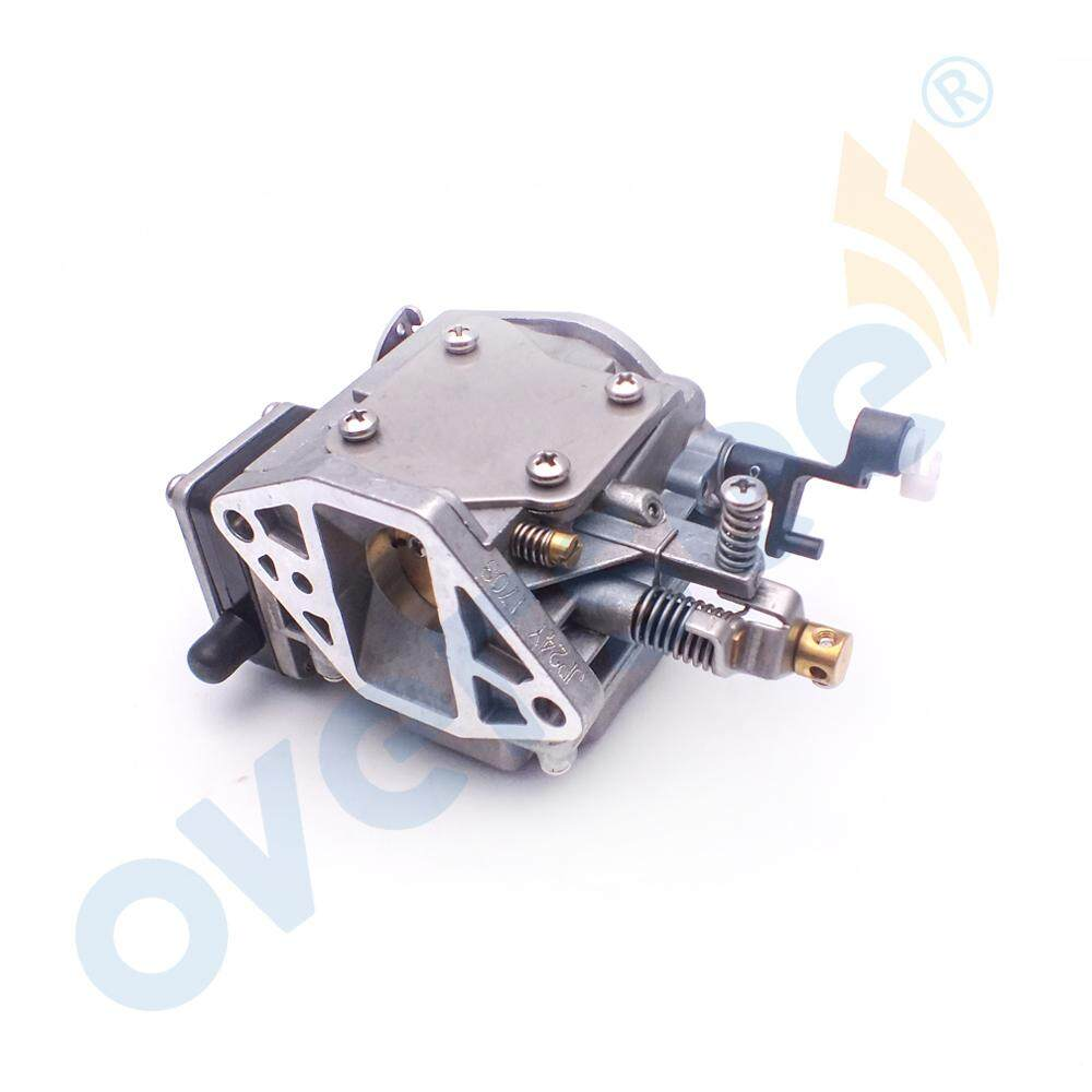 6k5-14301-03 Down Carburetor For Yamaha 60hp E60m Outboard Engine Parsun T60 Boat Motor Aftermarket Parts 6k5-14301-3 Atv,rv,boat & Other Vehicle Boat Parts & Accessories