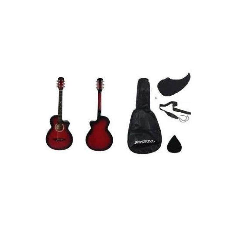 HYBURG Acoustic Guitar 38 Inch (Red) Malaysia