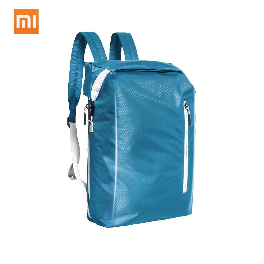 Xiaomi 90fun Sports Folding Backpack Nylon Shoulder Portable Bag Accommodating Bag Lightweight Backpack For Travel Outdoor Hiking 20l Large Capacity Water Resistant - Intl By Tomtop.