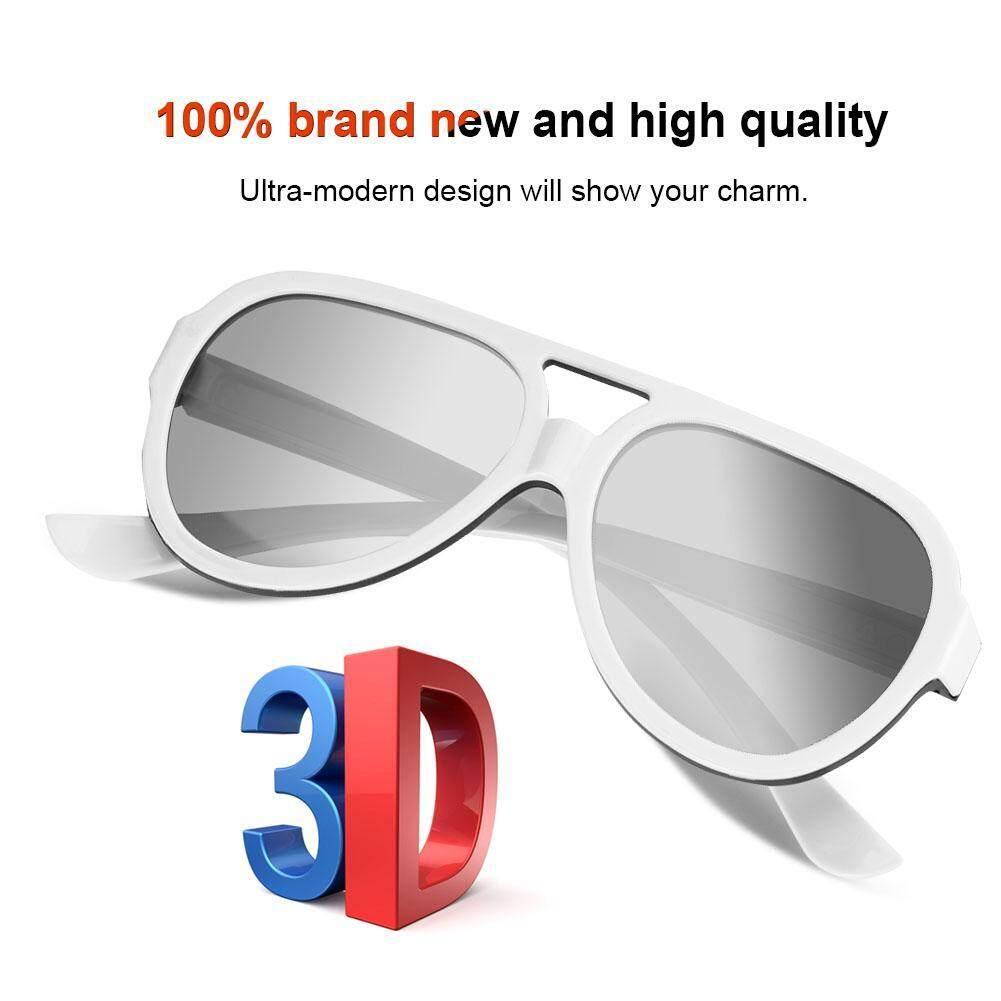 Hình ảnh Cinema 3D Glasses 1Pcs Plastic Circular Polarized 3D Glasses For 3D Glasses Stereoscopic Movie Glasses