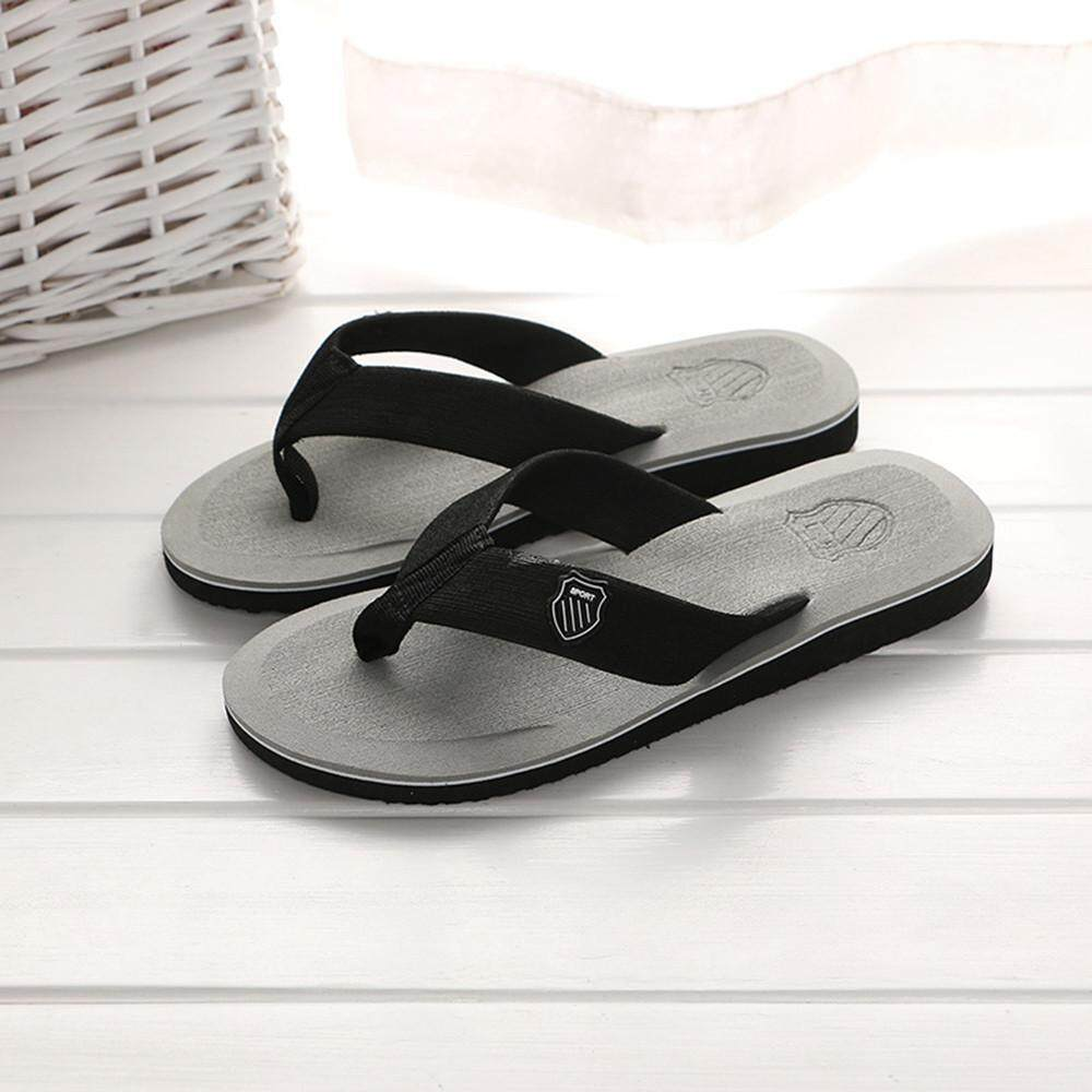 b97ccf2cb2cd ... House Slippers. RADOCIE Men s Summer Flip-flops Slippers Beach Sandals  Indoor Outdoor Casual Shoes