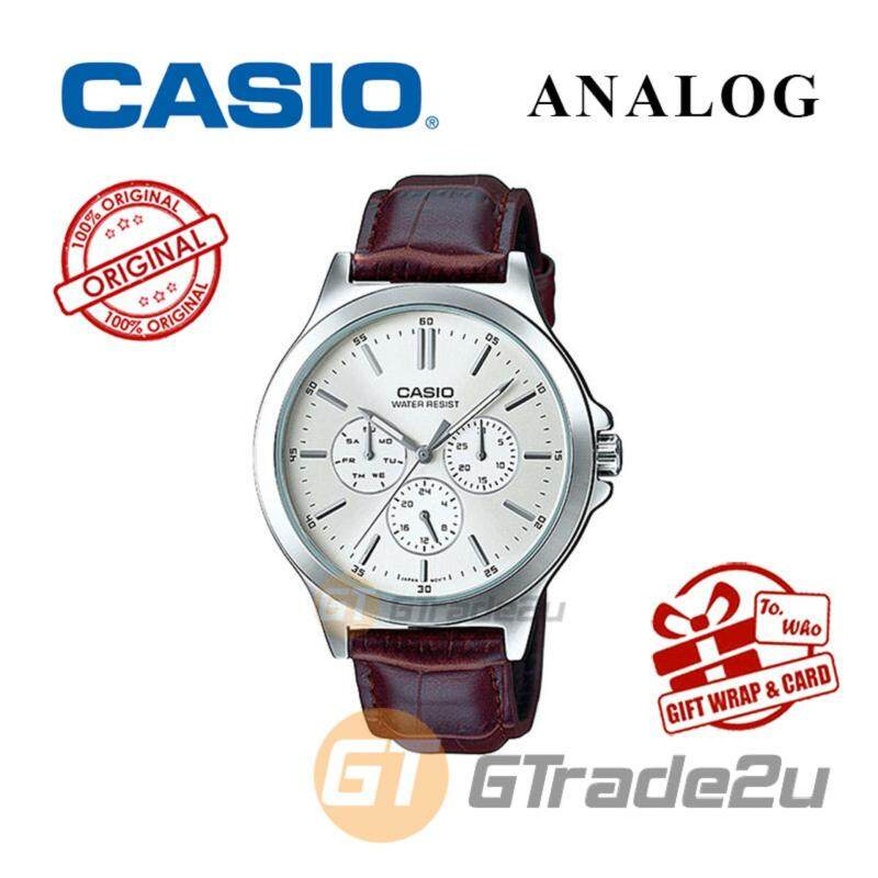 CASIO MEN MTP-V300L-7AV Analog Watch - Multi-Hand Water Resistant Malaysia