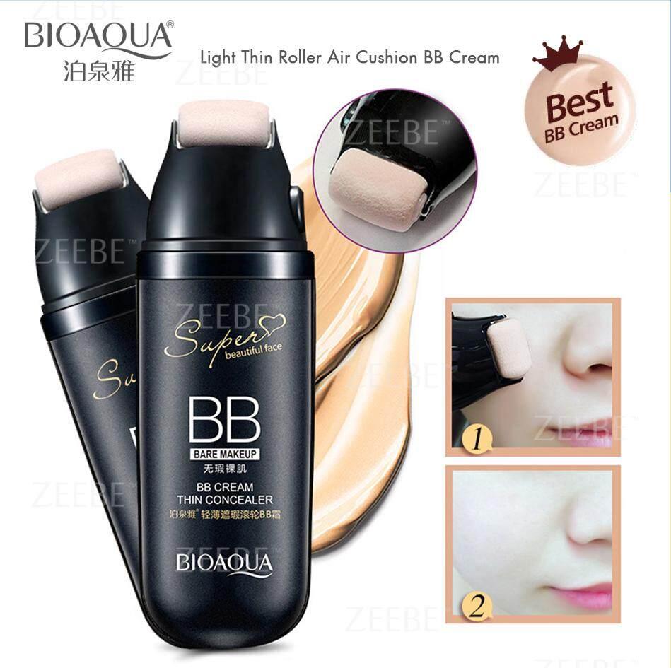 Fitur Bedak Bioaqua Dus Hitam Bb Cream Cushion Whitening Dan Harga Ivory White 02 Exquisite Delicate Plus Refill Scroll Foundation Concealer Makeup