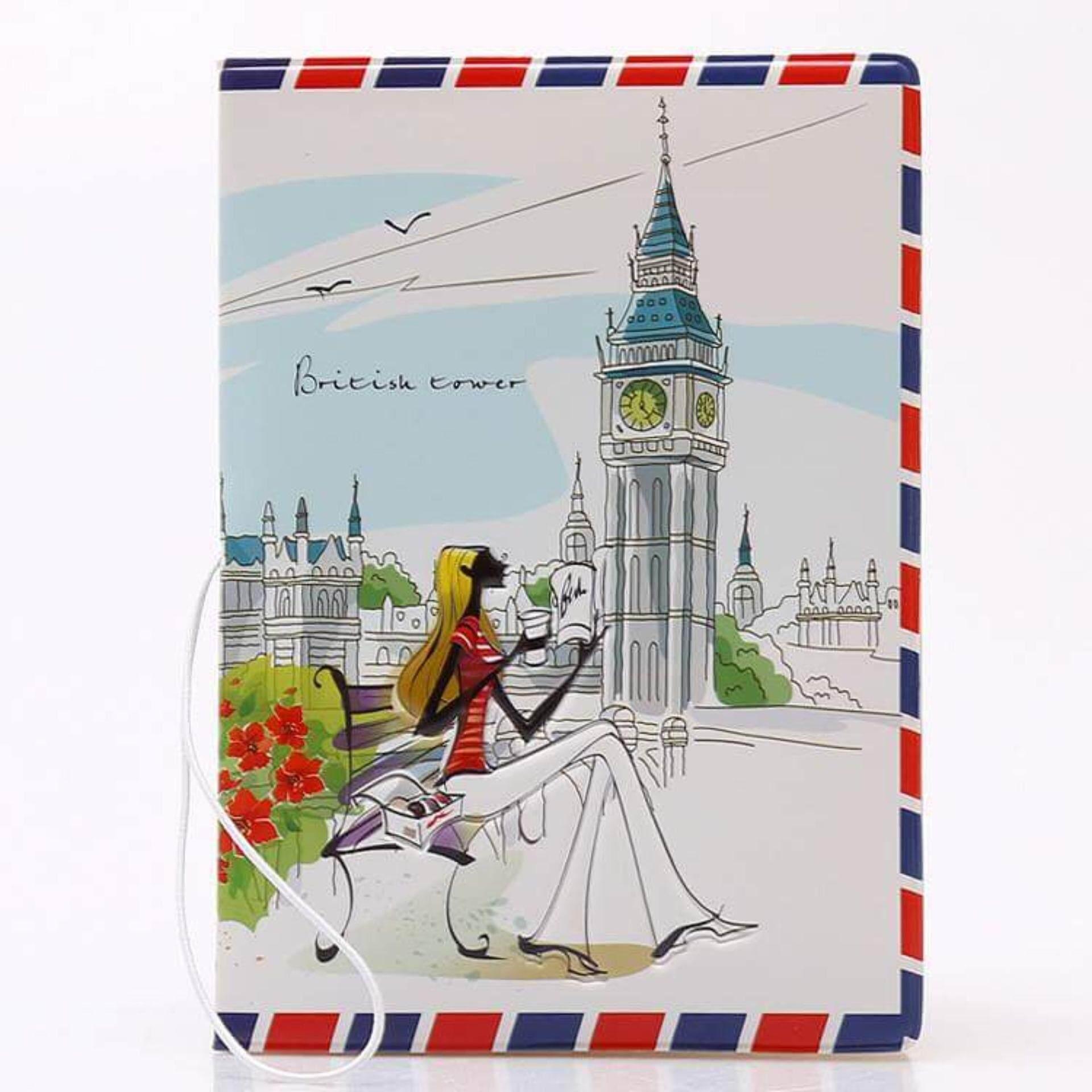 Passport Holder - France Paris