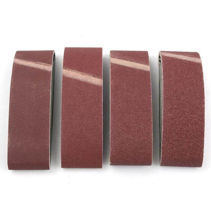 20 Norton 3 x 21 Sanding Belts Assort 36 50 80 120 Grit Fine Medium Coarse - intl
