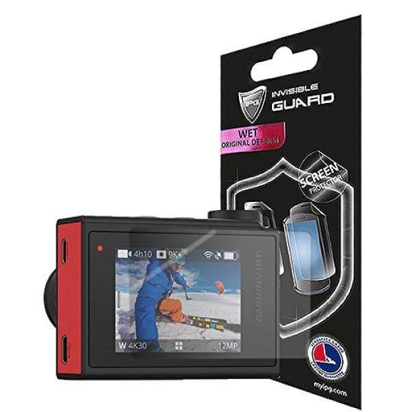For Garmin Virb Ultra 30 Action Camera (2 units) Screen Protector with Lifetime Replacement Warranty Invisible Protective Screen Guard - HD Quality / Self-Healing / Bubble -Free By IPG - intl
