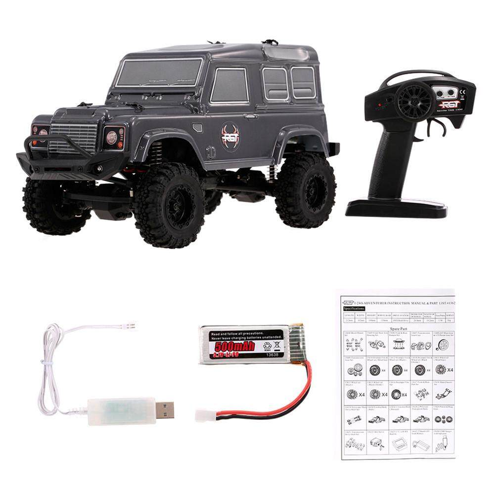 RYT RGT 1/24 2.4G 4WD 15KM/H RC Rock Crawler Monster Buggy