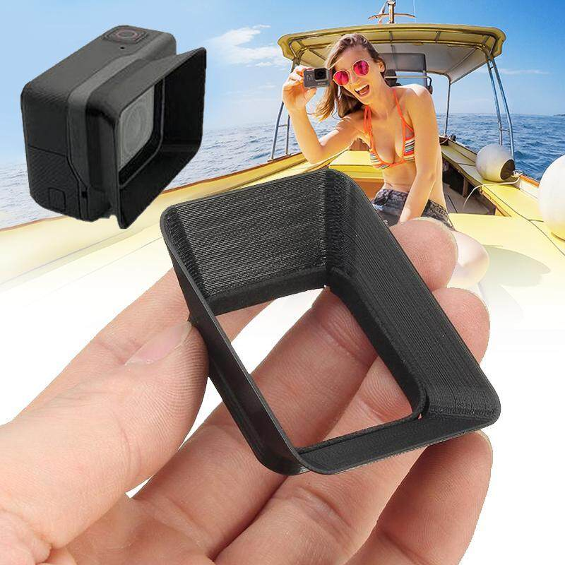 Sun Shade Lens Hood Miniature Black ABS Accessories Aircraft for for GoPro Hero 5/6