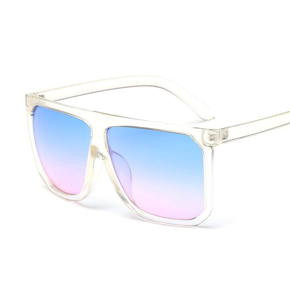 Rp 37.000. Pria Wanita Antik Retro Persegi Bingkai Kacamata Uniseks Modis Penerbang Kacamata Hitam-InternasionalIDR37000