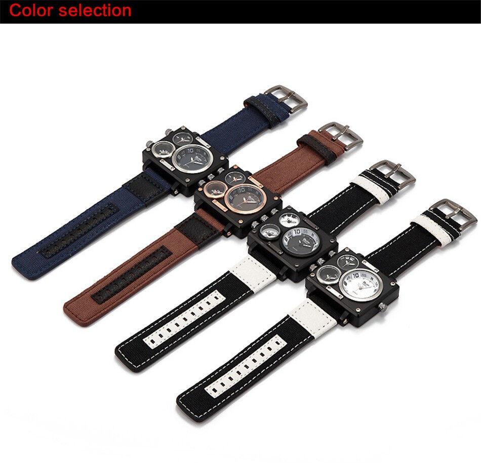 Oulm 3595 Men Quartz Watch--04