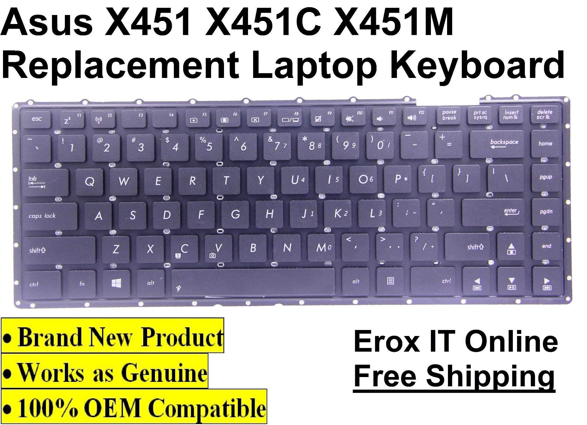 Harga Jual Keyboard Asus X451c X452 Price In Malaysia A455l D451 D451e X451 X451m X551 Best X552c Oem Replacement A550