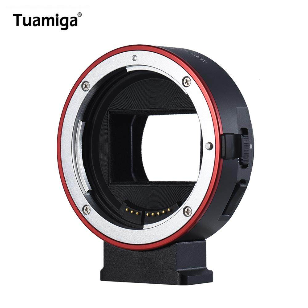 Tuamiga EF-NEX7 High Speed Auto Focus Lens Mount Adapter for Canon EF Lens to E-mount Camera for Sony A9 A7 A7R mk2 A6300 A6500