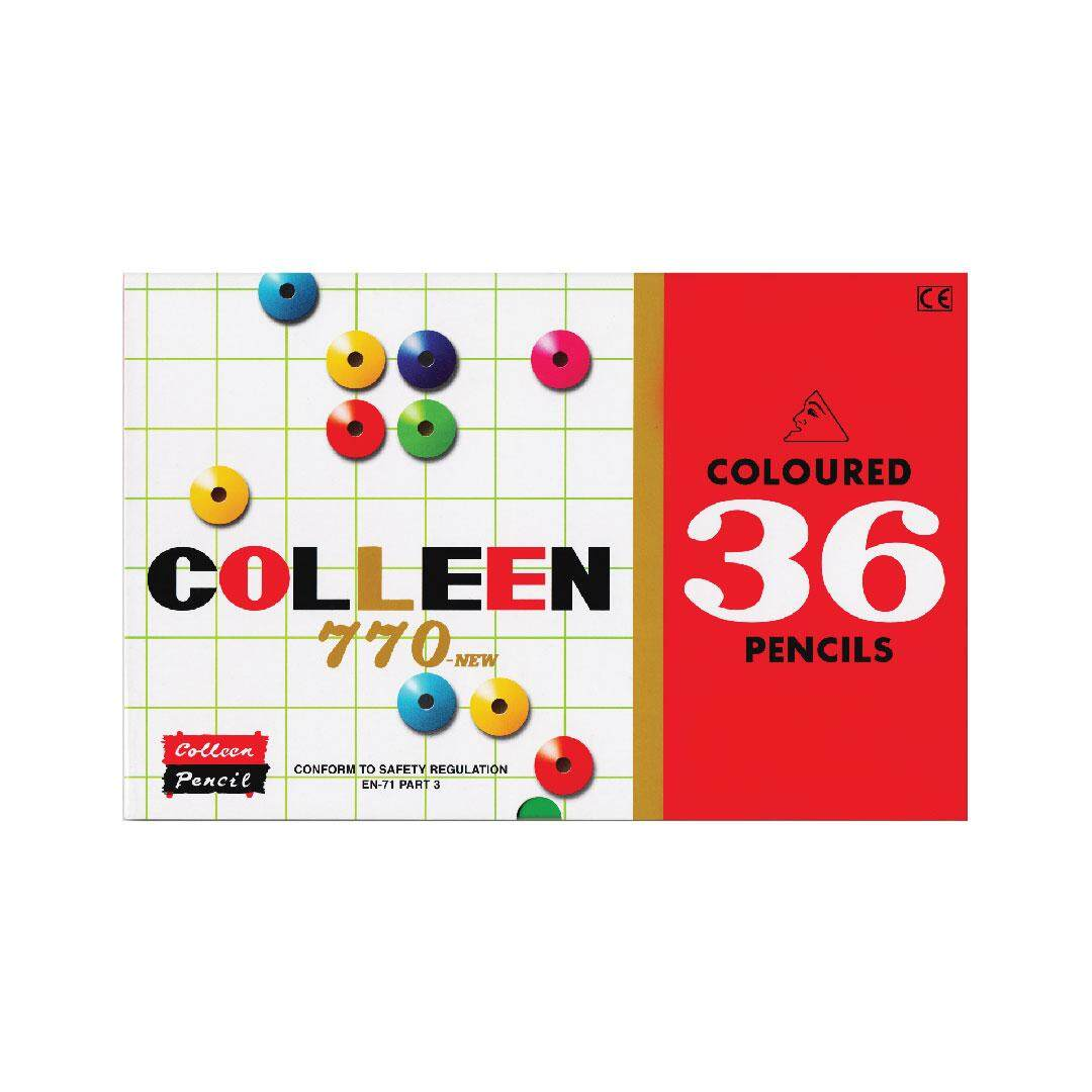 COLOR PENCIL (SINGLE END TIP) 36 PCS / 36 COL - ROUND