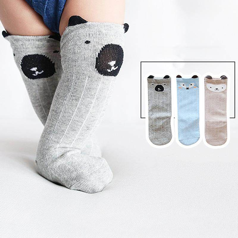 6 Pairs Unisex Baby Socks Toddler Boy Animal Knee High Socks Baby High Stockings