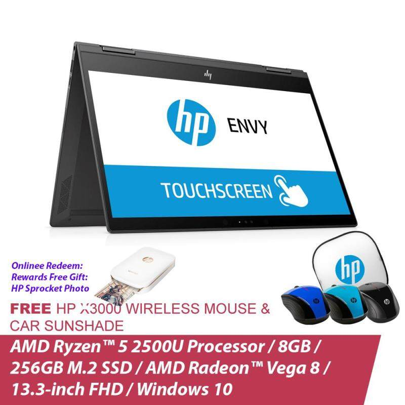 HP ENVY x360 13-ag0003AU 4KT89PA (Dark Ash Silver) + Free HP Wireless Mouse + Car Sunshade Malaysia