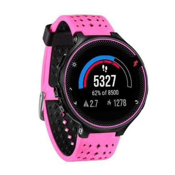 Silicone Wrist Watch Band For Garmin Forerunner 230/235/630 Pink