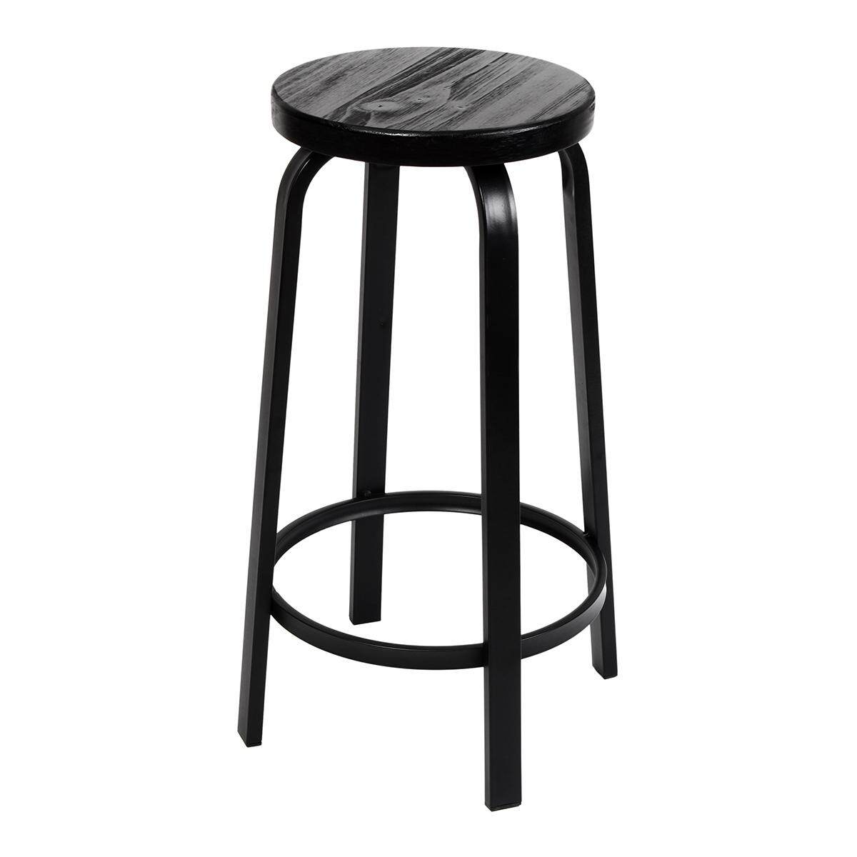 Industrial Retro Urban Metal Bar Stool Cafe Factory Chair Furniture # 80cm