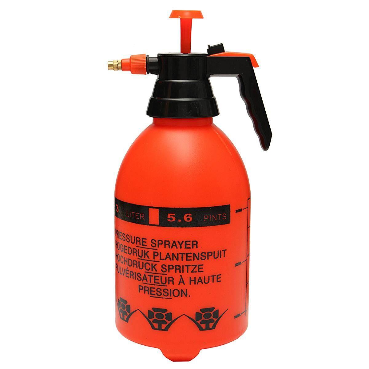 3l Portable Pressure Water Sprayer Pump Handheld Chemical Bottle Garden Tool By Glimmer.