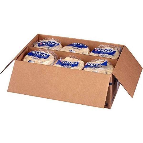 Kronos Frozen Original Flat Authentic Pita Bread, 6 inch -- 120 per case. / From USA