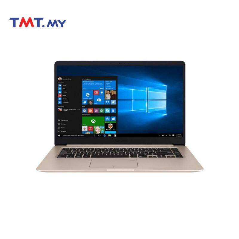 Asus Vivobook S15 S510U-NBQ350T Laptop | i5-8250U | 4GB | 1TB+256GB | 15.6 | NVD MX150 | W10 - Gold Malaysia
