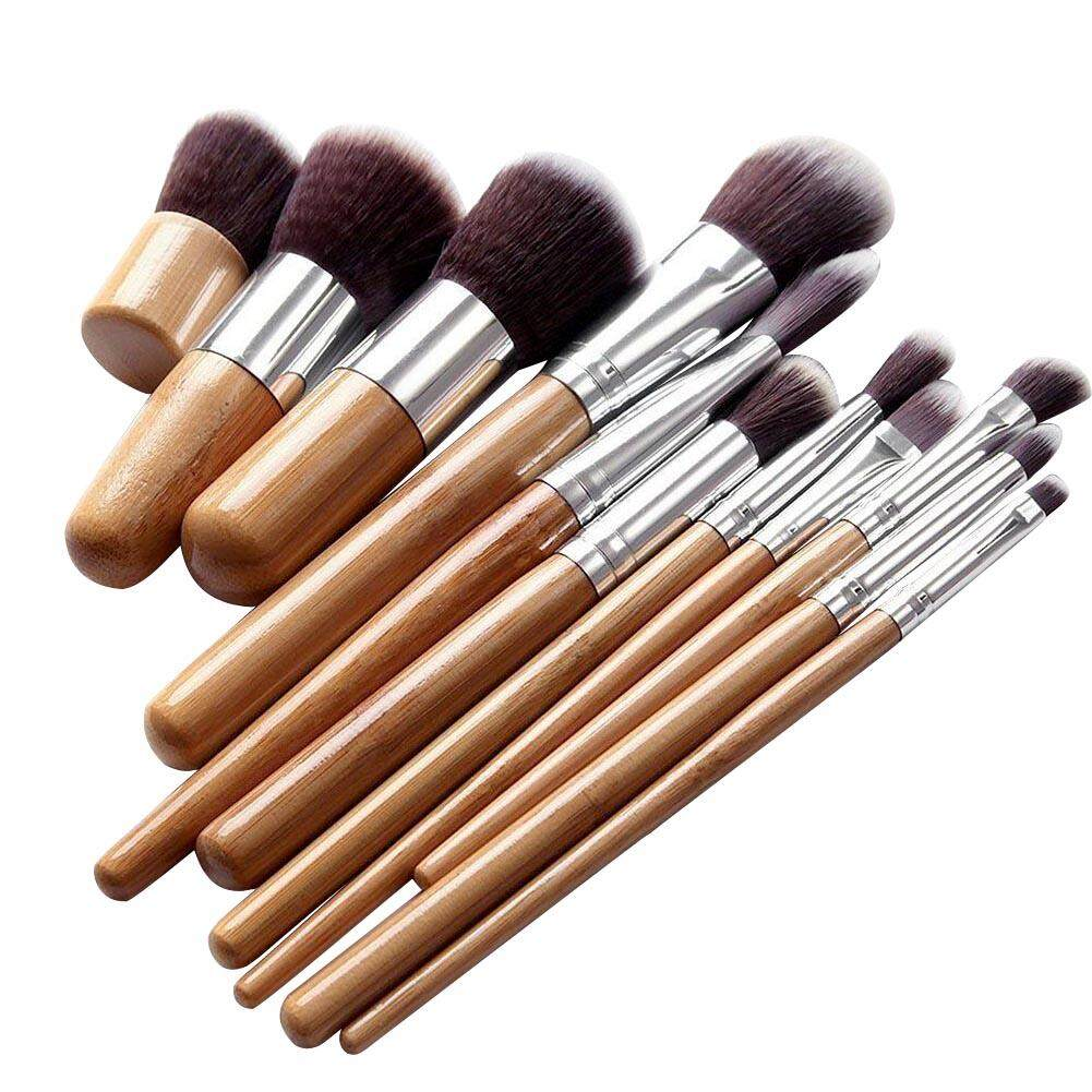 Kuas Kosmetik Make Up Brush Campuran Kontur Datar International Cylinder Case Sbs002bk 11 Polka Dot Black Set Pcs Profesional Membuat Hingga Foundation Brushes Kabuki Riasan Wniu Internasional