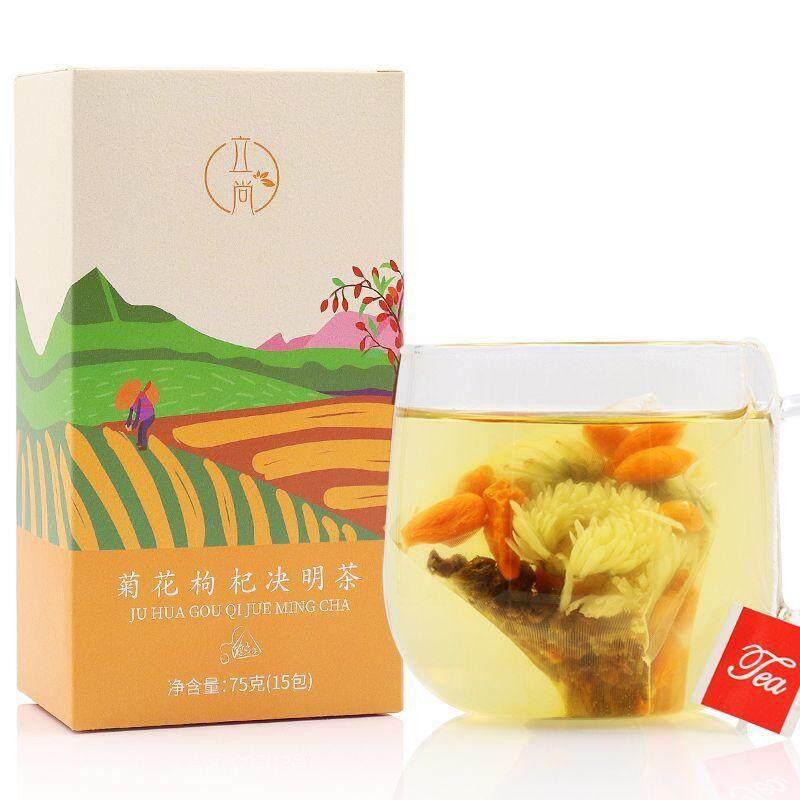 Krisan Wolfberry Teh Kesehatan Cassia Kesehatan Teh Melestarikan Wolfberry Cina Krisan Teh Kombinasi Bunga Tea OEM