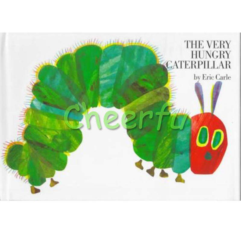 Ulat Sangat Lapar Oleh Eric Carle Pendidikan Buku Bergambar Bahasa Inggris Kognitif Pembelajaran Buku Cerita untuk