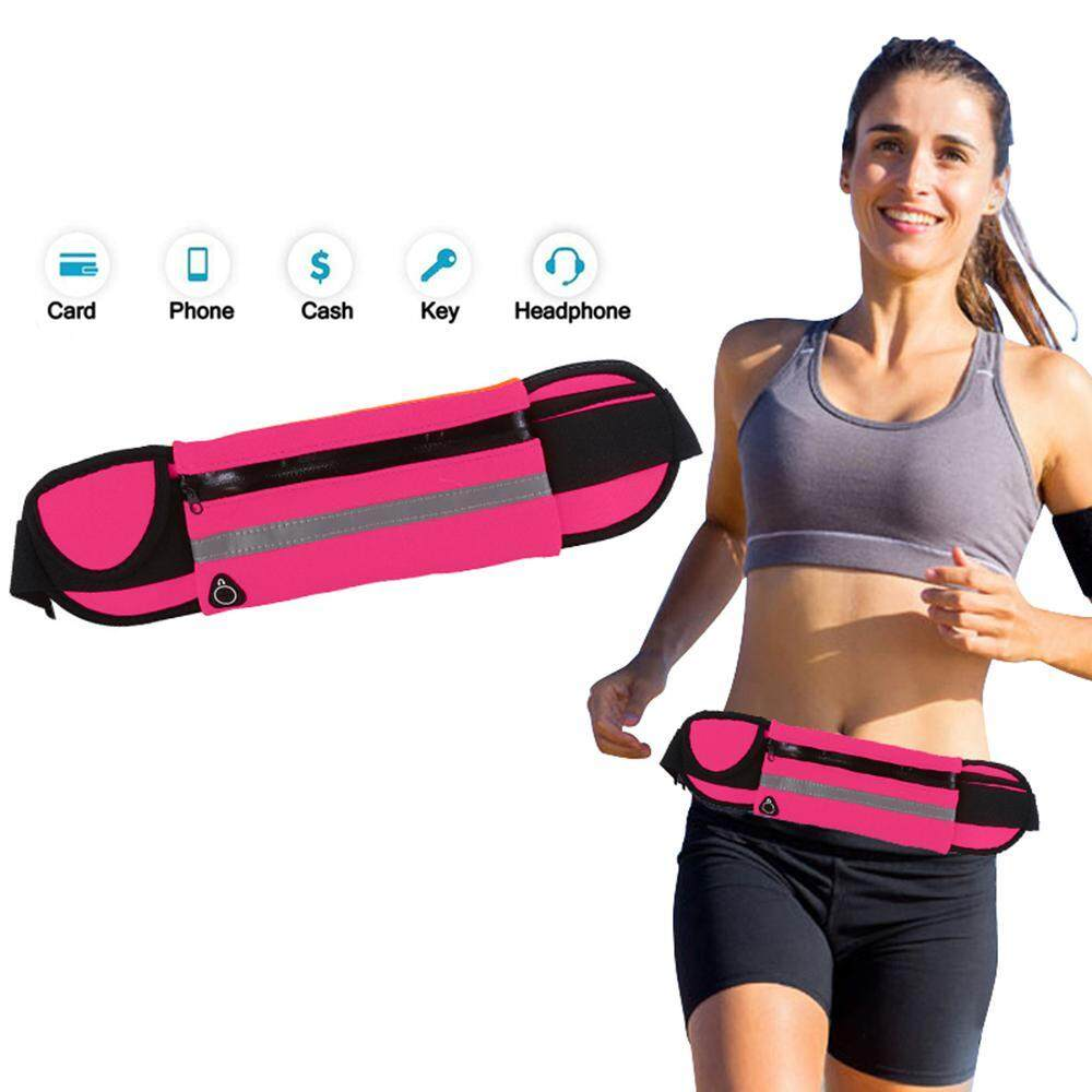 Running Belt Waist Pack - Water Resistant Runners Belt Fanny Pack For Hiking Fitness – Adjustable Running Pouch For All Kinds Of Phones Iphone Android Windows By Ltplaza.