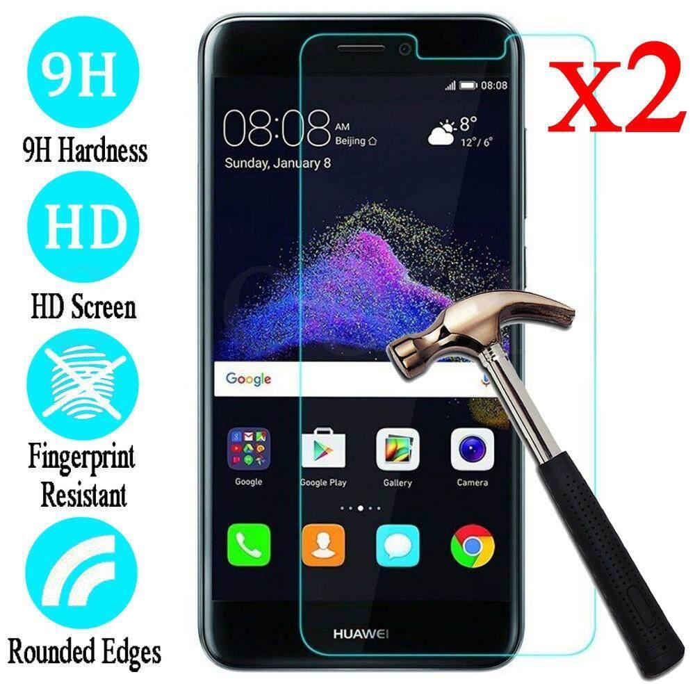 2 Pcs 9 H Premium Kaca Antigores Pelindung Layar Film untuk Huawei P10 Plus P10 Lite