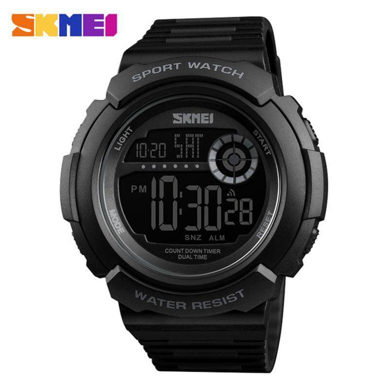 SKMEI New Fashion Casual LED Digital Watch Top Brand Luxury Mens Sport Waterproof Military Watches Malaysia