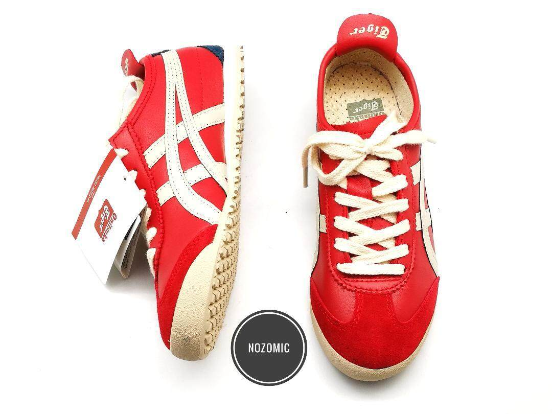 Fitur Sepatu Sneakers Asics Onitsuka Tiger Hitam Dan Harga Terbaru Black White Mexico 66 Red Base With Stripes Shoes Lace Leather 2