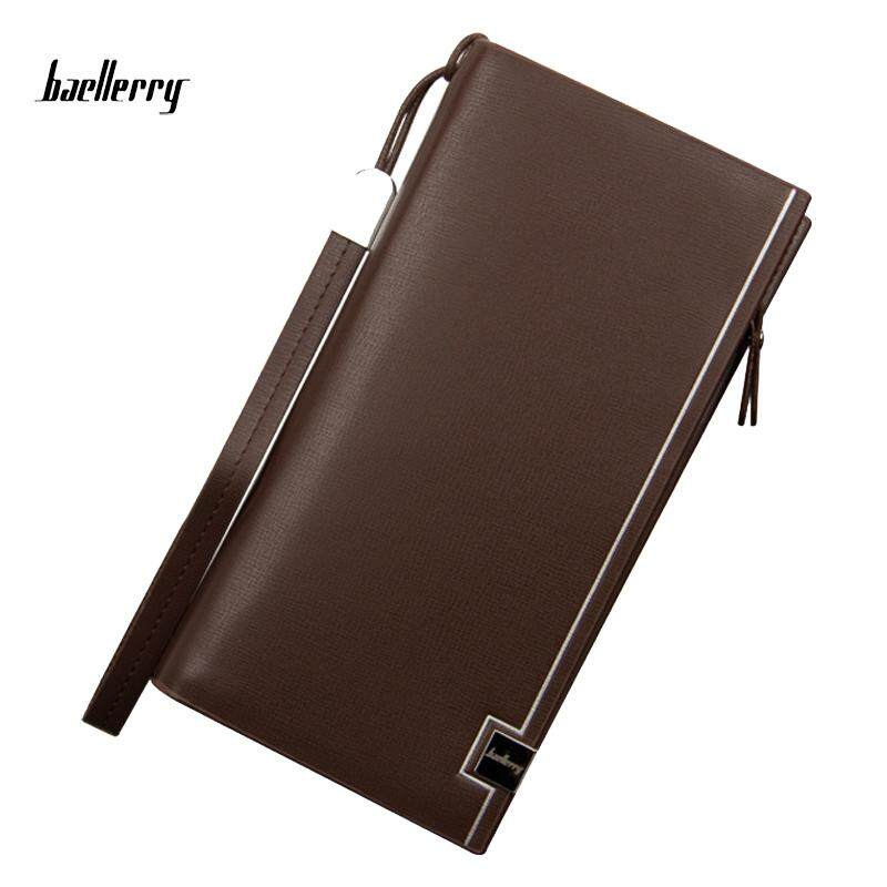 Baellerry WLT-111 ZX-S6545 Classic Fashion Men Leather Wallet