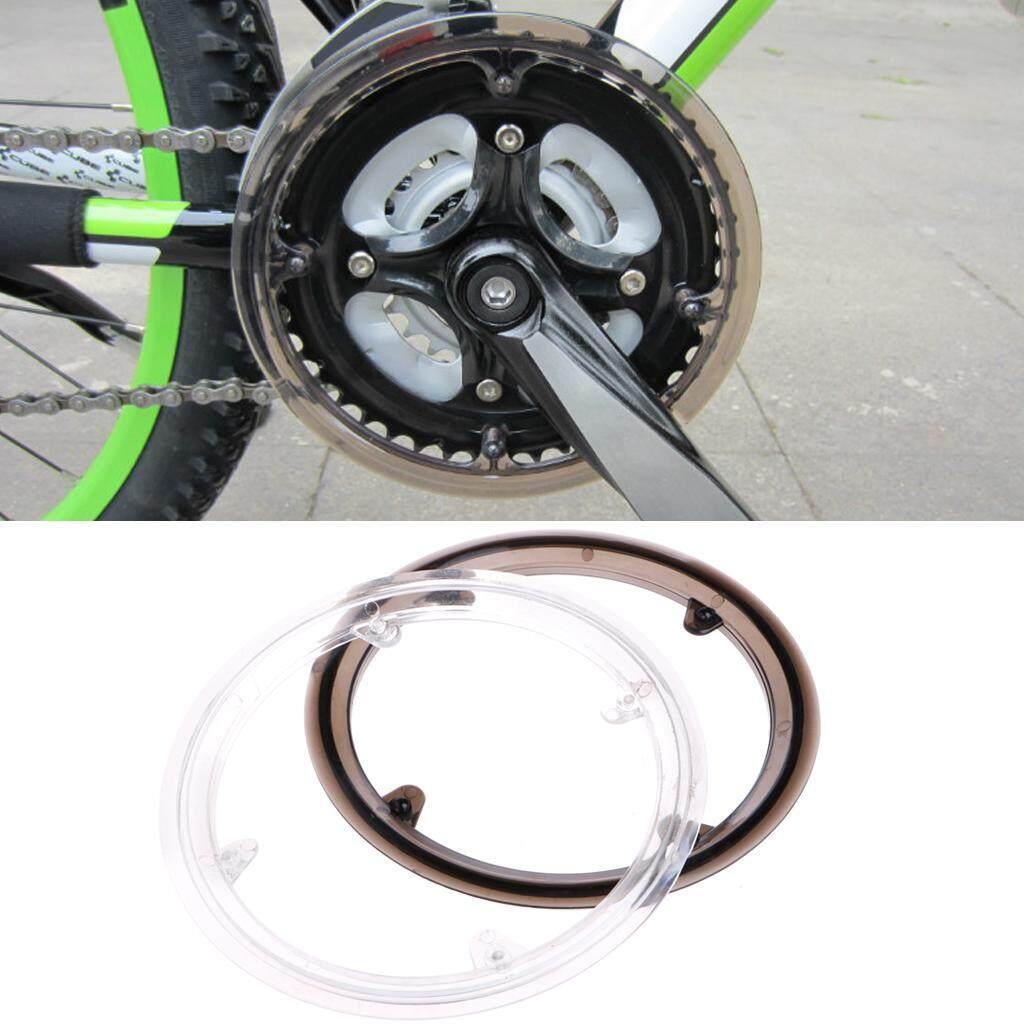 Detail Gambar MTB Sepeda Sepeda Bersepeda Crankset Roda Sarung Menjaga Rantai Tutup Pelindung Plastik-Internasional