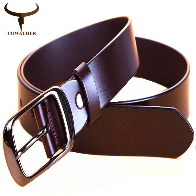 82bf9583a COWATHER Women Leather Belts 100% Cow Leather Dress Waist Belt for Women  High Grade Quality