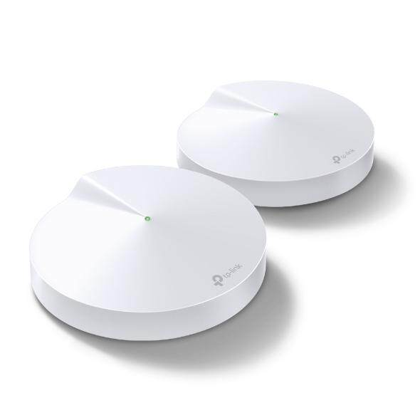 TP-Link Deco P7 AC1300 Dual-Band Whole Home Hybrid Mesh WiFi System with Powerline and Wireless Network Router Units (2 pack, 3 Years Warranty)