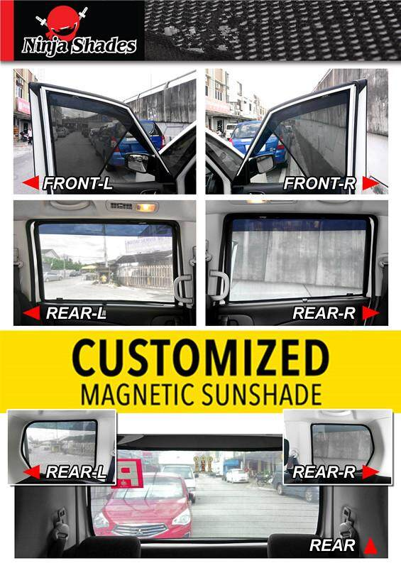 Suzuki Swift (12-16) Magnetic Ninja Sun Shade sunshades (5PCS)