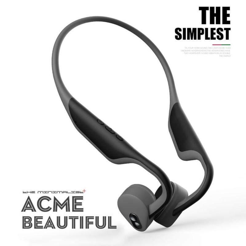 niceEshop Bone Conduction Headphones,Open Ear Headphones Blueteeth 5.0 HD Stereo Wireless Headphones Lightweight Sports Headset Built-in Microphone Waterproof Singapore