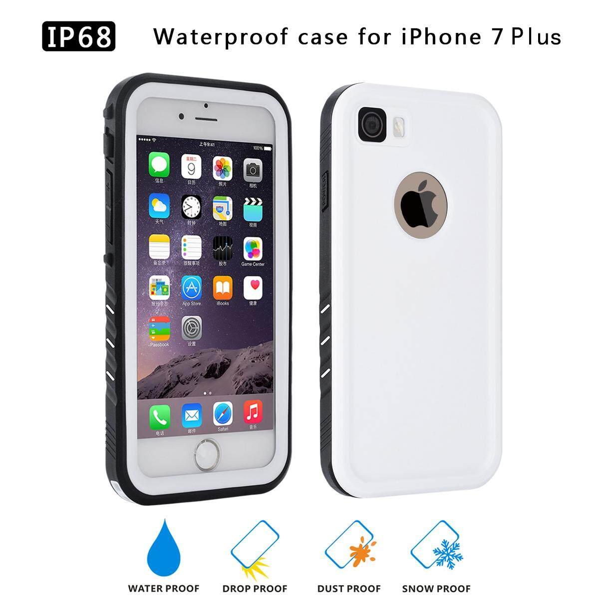 Moonmini Case untuk iPhone 7 Plus/Iphone 8 PLUS Ultra Ramping Tahan Air Tahan Goncangan
