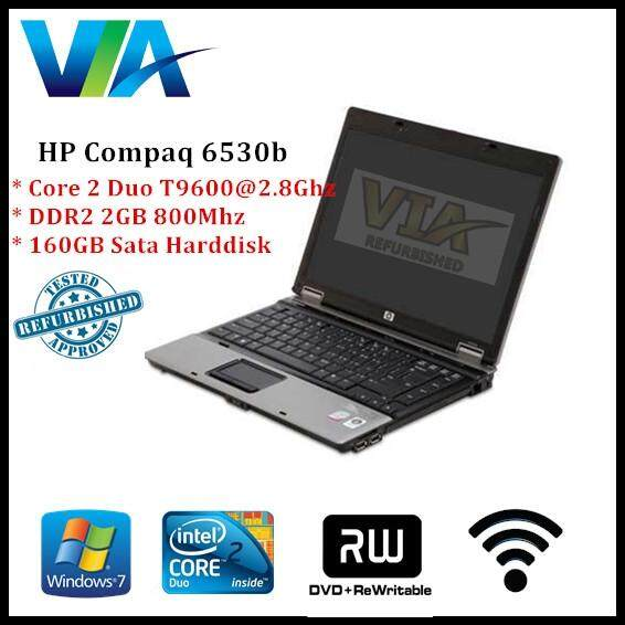 Refurb HP Compaq 6530b Core 2 Duo/2Gb/160Gb/+NEW BATTERY Malaysia