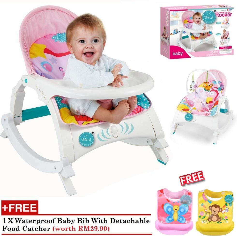 Features Fisher Price Infant To Toddler Rocker Pink Owl Sleeper Baby A Multipurpose Bouncer And Feeding Chair