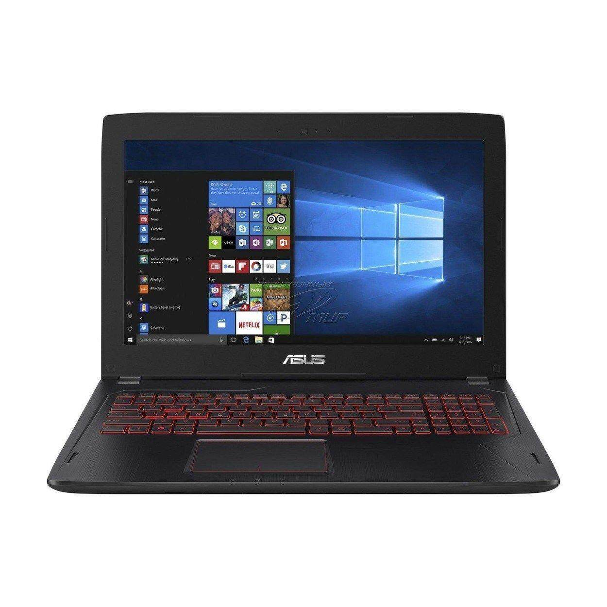 NEW ASUS i7 7700HQ 16GB GTX 1050 256GB + 1TB FHD Fast Gaming Laptop Malaysia