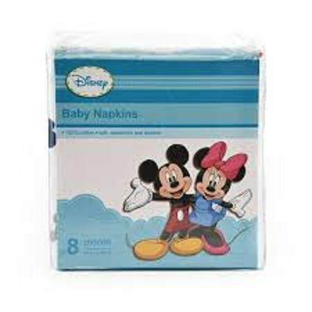 Anakku Disney Baby Napkin 8 pieces (76cm x 76cm) 100% Cotton
